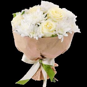 троянди та хризантеми