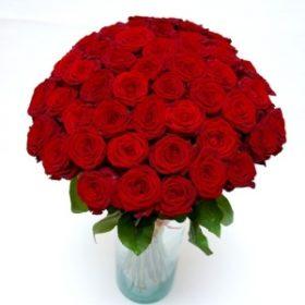 75 червоних троянд фото
