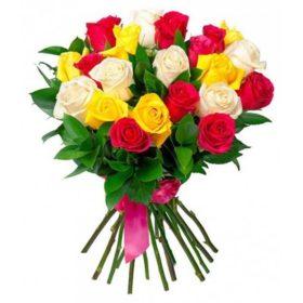 21 троянда мікс фото