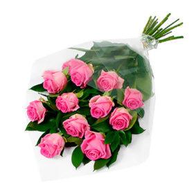 11 троянд аква