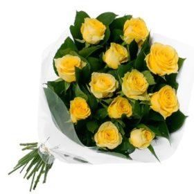 11 жовтих троянд фото