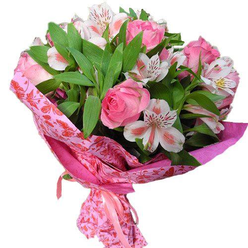 букет Рожевий колір фото