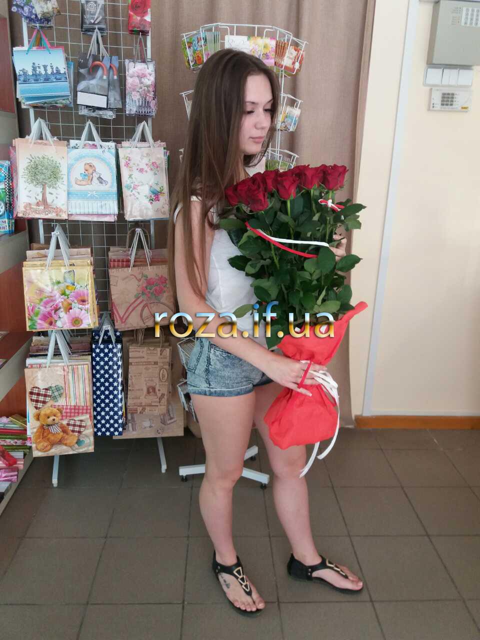 фотозвіт доставки квітів у франківську