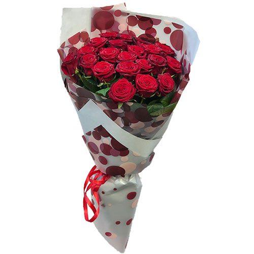 фото 21 червона троянда