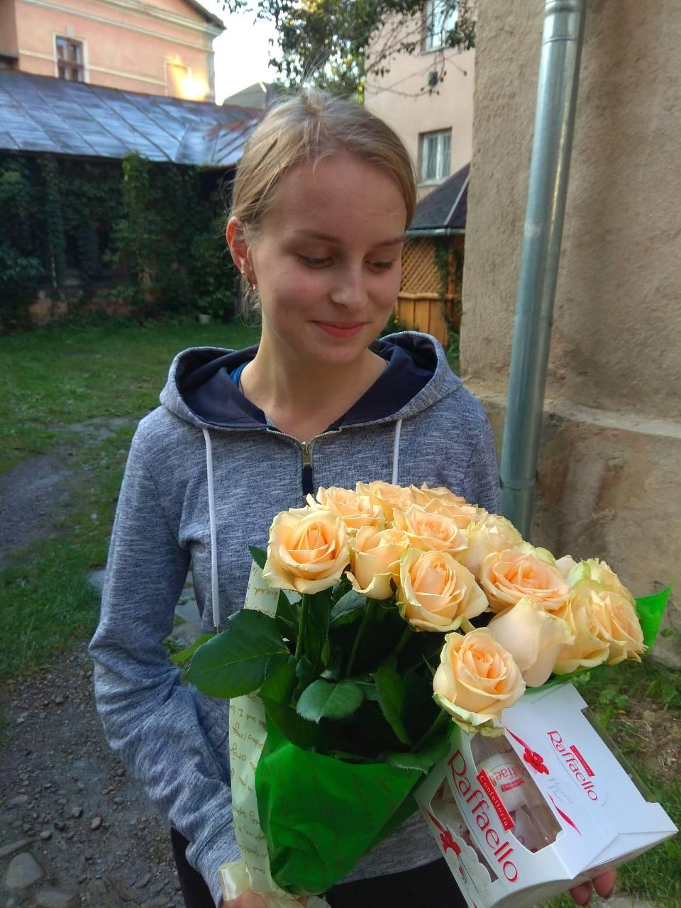 Доставка квітів фотозвіт
