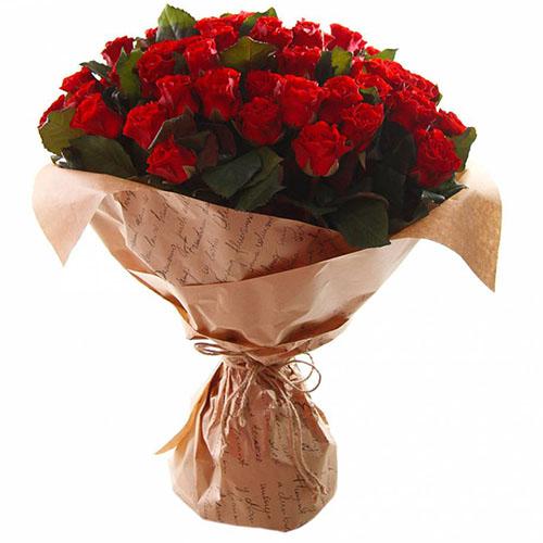 "фото букета 51 троянда ""Ель-Торо"""