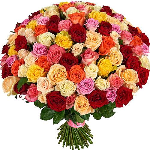 фото товару 101 троянда мікс