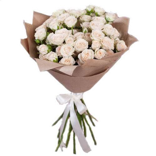 фото букета 15 кущових троянд