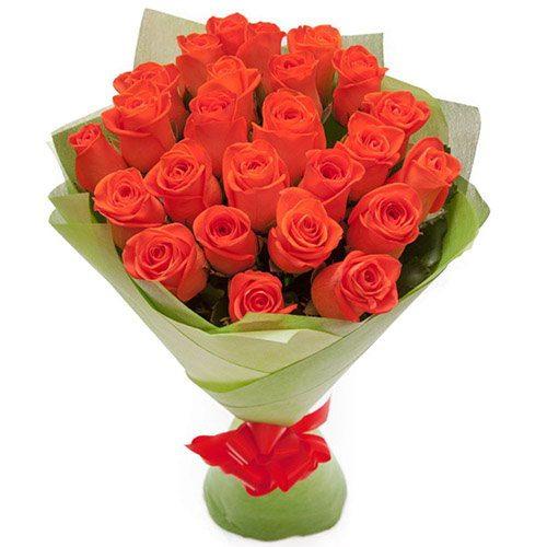 """букет 25 троянд """"Вау"""" фото товару"""