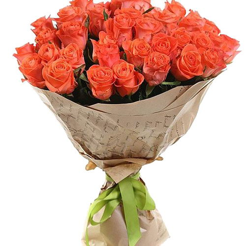 "букет 51 троянда ""Вау"" фото товару"