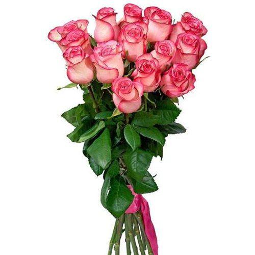 Букет «Королева» троянди джумілія фото товару