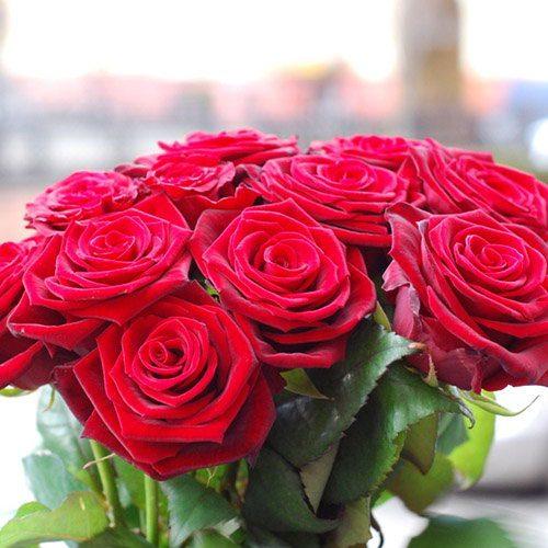 "фото Букет 11 троянд ""З тобою"""