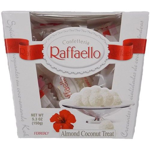 фото товару цукерки Рафаелло 150 гр