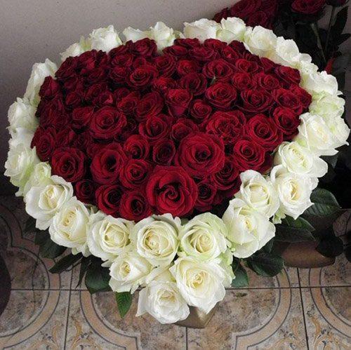 фото товару Серця (101 троянда)