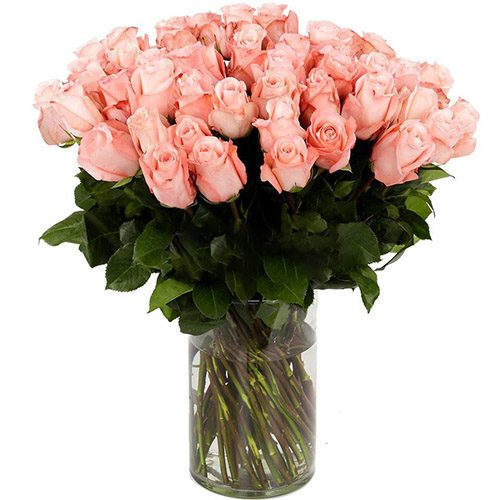 фото товару Роза імпортна рожева (поштучно)